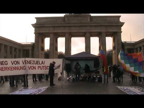 #Berlin 14.12.19 / Jose aus #Bolivien / Solidarität mit Lateinamerika #EvoElMundoEstaContigo