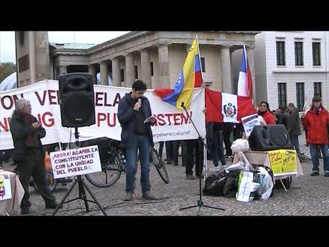 #Berlin Nov. 2 - Journalist über die Lage in Mexico Solidaridad #HändewegvonVenezuela