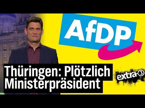 Thüringen: Plötzlich Ministerpräsident   extra 3   NDR