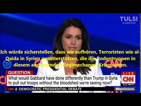 US-Präsidentschaftskandidatin Gabbard: Al-Qaida Terroristen in Syrien waren US-Bodentruppen
