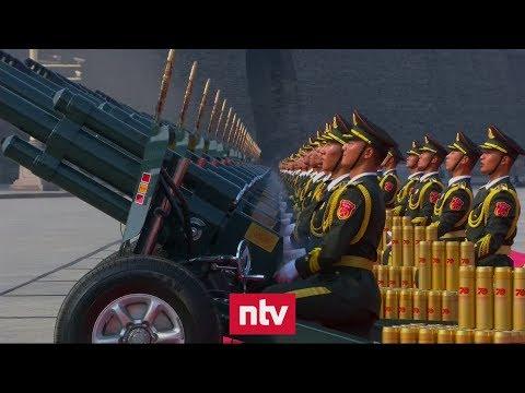 China hält größte Waffenschau seiner Geschichte ab | n-tv