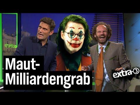 Maut: Scheuers Milliardengrab | extra 3 | NDR