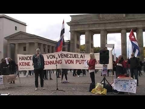 #HaendewegvonVenezuela - Rede Edgar Göll - Berlin 5.10.2019 #HandsOffVenezuela