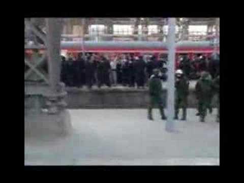 Naziangriff am 07.07.07 im Hauptbahnhof Frankfurt/Main