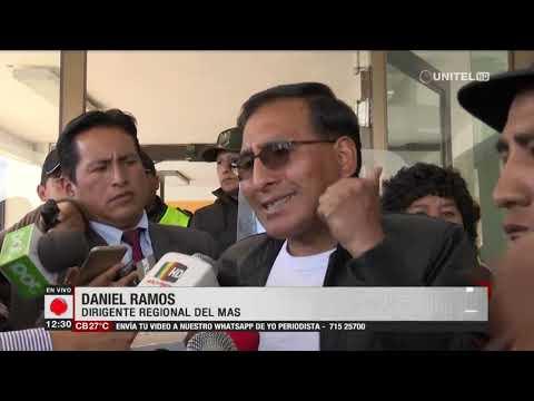 Fernando Camacho no pudo dejar el aeropuerto de El Alto