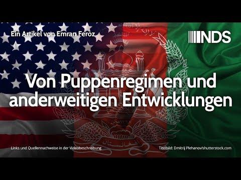 Von Puppenregimen und anderweitigen Entwicklungen   Emran Feroz   NachDenkSeiten-Podcast   04.12.19