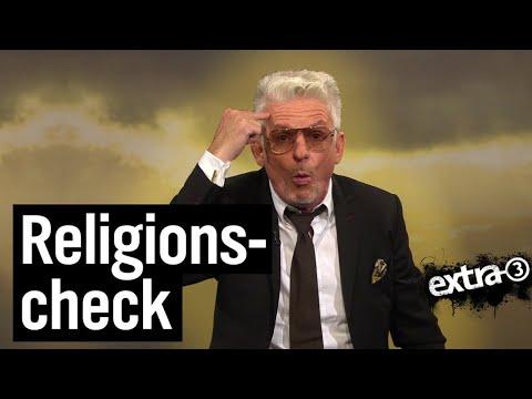 Experte für Religionen Heinz Strunk | extra 3 | NDR