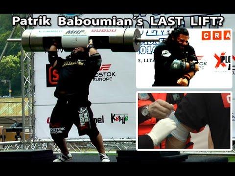 Patrik Baboumians Last Lift