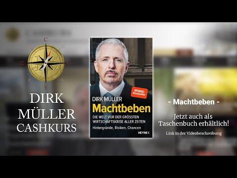 """Dirk Müller: """"Machtbeben"""" ab sofort auch als Taschenbuch erhältlich!"""
