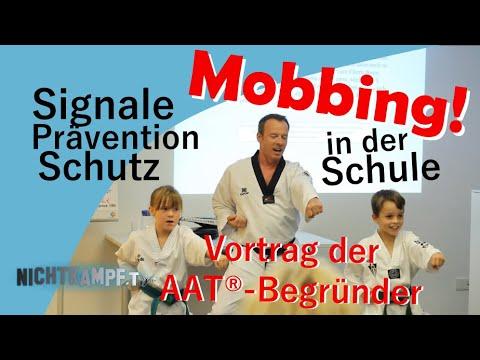 Mobbing in der Schule - Signale, Prävention und Schutz   Vortrag der Gründer des AAT©