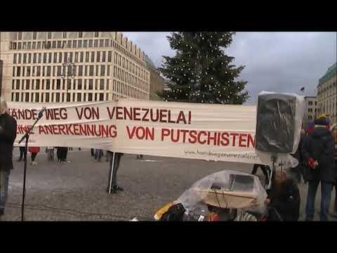 #Berlin 7.12.19 / Rede von Maren / Solidarität mit Lateinamerika #HaendewegvonVenezuela
