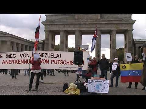 Erklärung der KP Ekuadors #HaendewegvonVenezuela Kundgebung 5.10.19 Berlin