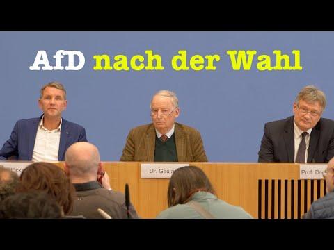 Höcke, Gauland & Meuthen: Die AfD-Führer nach der Wahl in Thüringen | BPK