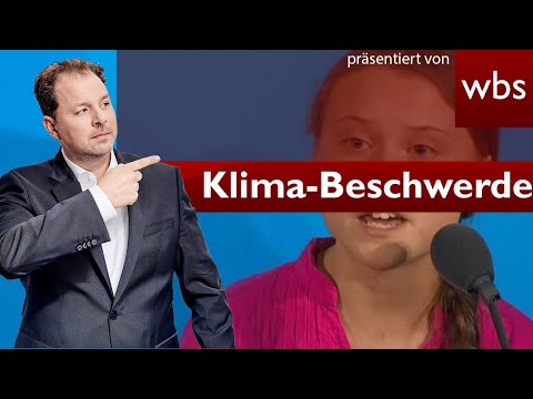 Klimakrise: Thunberg reicht UN-Beschwerde ein | Rechtsanwalt Christian Solmecke