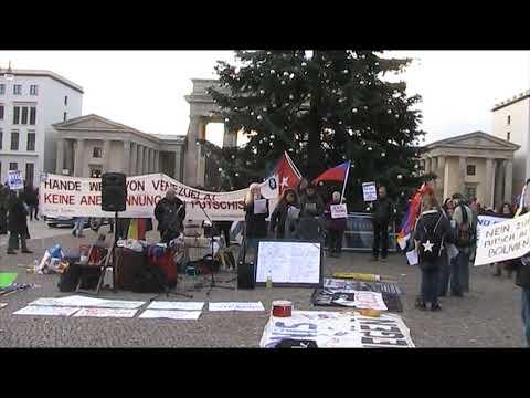 Begrüßung - Saludos de #Berlin Solidaridad Internacional con Chile y Latinoamerica! 30.11.2019