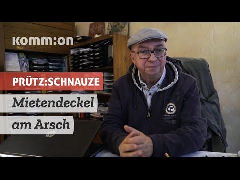 PRÜTZ:SCHNAUZE Mietendeckel am Arsch - schließen SPD und Grüne Pakt mit der Immobilienlobby?