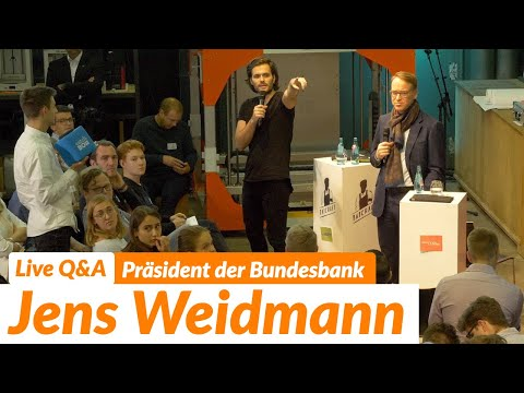 Live Q&A mit Bundesbank-Präsident & EZB-Mitglied Jens Weidmann | 15. November 2019