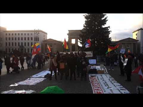 "Gegen Unterdrückung von Frauen ""Las Tesis"", Chile #Berlin Solidaridad Latinoamerica! 30.11."