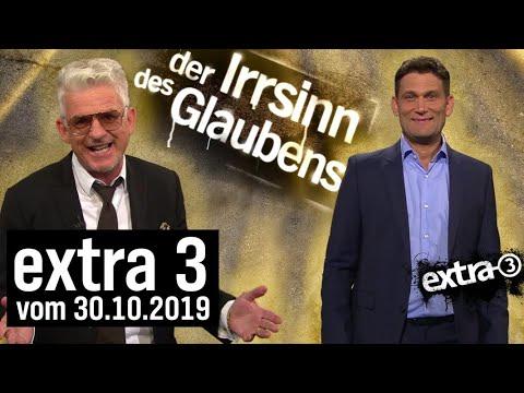 extra 3 Spezial: Der Irrsinn des Glaubens vom 30.10.2019   extra 3   NDR