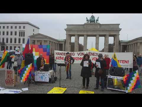 Solidaridad Internacional con América Latina - Maristela Alves / Berlin 16.11.19
