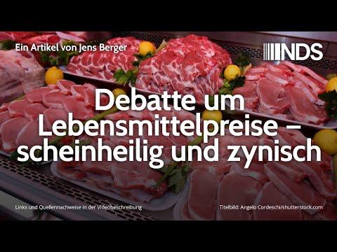 Debatte um Lebensmittelpreise – scheinheilig und zynisch | Jens Berger | NDS | 04.01.2020