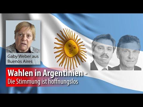 Global gesehen :: Wahlen in Argentinien - Die Stimmung ist hoffnungslos