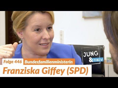 Bundesfamilienministerin Franziska Giffey (SPD) - Jung & Naiv: Folge 446
