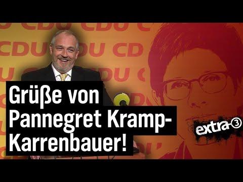 Torsten Sträter: Sprecher von Annegret Kramp-Karrenbauer | extra 3 | NDR