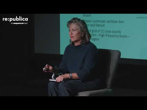 re:publica Detroit 2019 – Harriet Tregoning: What Scooters Can't Fix