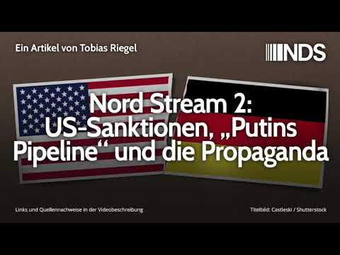 """Nord Stream 2: US-Sanktionen, """"Putins Pipeline"""" und die Propaganda   Tobias Riegel   NDS   13.12.19"""