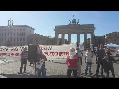 Unblock Cuba! #ForPeaceNoMasTrump #HaendewegvonVenezuela #Berlin 21.9.2019