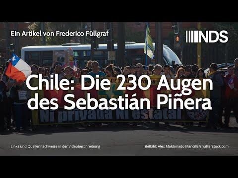 Chile: Die 230 Augen des Sebastián Piñera | Frederico Füllgraf | NachDenkSeiten-Podcast | 21.11.2019