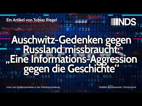 """Auschwitz-Gedenken gegen Russland missbraucht: """"Eine Informations-Aggression gegen die Geschichte"""""""