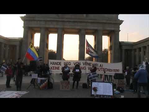 Begrüßung - Saludos de #Berlin Solidaridad Internacional Latinoamerica! 23.11.2019