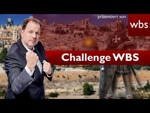 Dürfte Papst Kreuzzug ausrufen? | Challenge WBS Rechtsanwalt Christian Solmecke