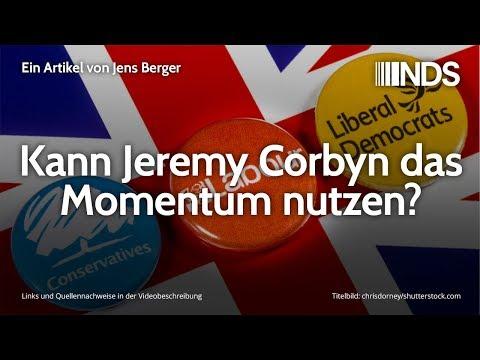 Kann Jeremy Corbyn das Momentum nutzen?   Jens Berger   NachDenkSeiten-Podcast   04.12.2019