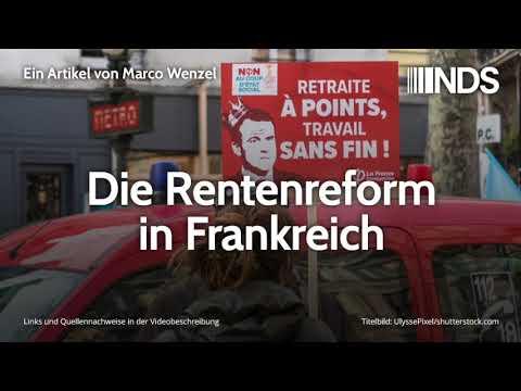 Die Rentenreform in Frankreich | Marco Wenzel | NachDenkSeiten-Podcast | 07.01.2020