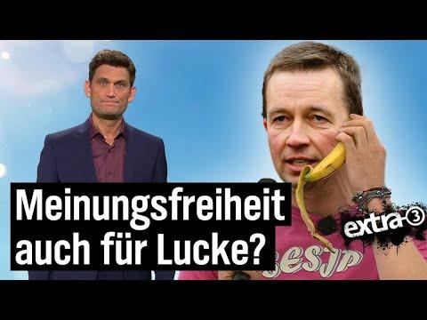 Lucke darf nicht reden - wegen der Meinungsfreiheit | extra 3 | NDR