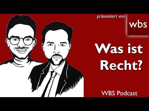 WBS-Podcast #3: Was ist Recht? (incl Spuk-Haus Challenge :-))
