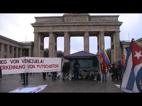 #Berlin 14.12.19 / Rede Volker Wirth / Solidarität mit Lateinamerika #HaendewegvonVenezuela