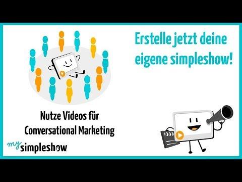 Nutze Videos für Conversational Marketing - mysimpleshow