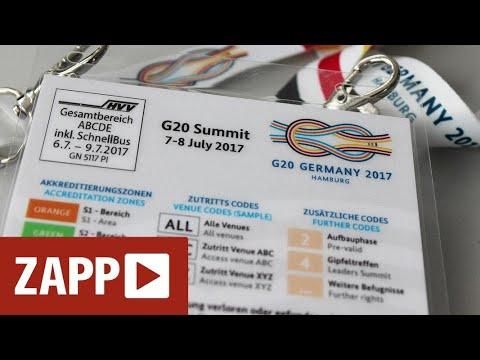 G20-Aufarbeitung: Urteil gibt Journalisten recht | ZAPP | NDR