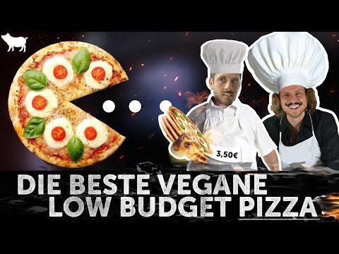 Unser Lieblings-Rezept: Vegane Low-Budget Pizza
