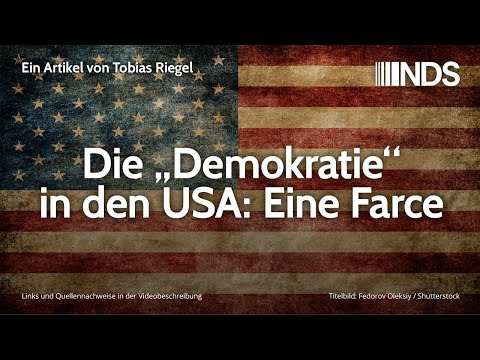 """Die """"Demokratie"""" in den USA: Eine Farce   Tobias Riegel   NachDenkSeiten-Podcast   10.02.2020"""