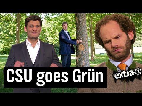 CSU: grüner, junger und weiblicher? | extra 3 | NDR