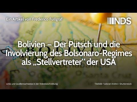 """Bolivien – Der Putsch und die Involvierung des Bolsonaro-Regimes als """"Stellvertreter"""" der USA"""