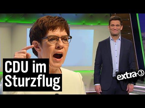 AKK: Von Fettnapf zu Fettnapf | extra 3 | NDR