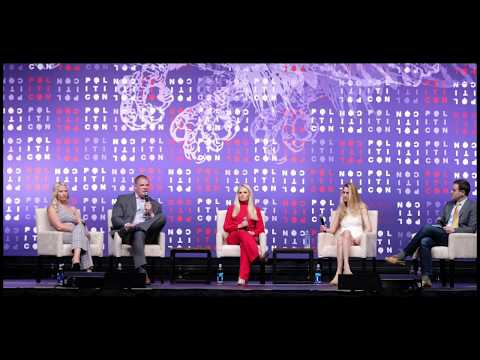 Politicon 2019 - 'Keep America Great' panel with Ann Coulter, Tomi Lahren, Elisha Krauss & G. Jacobs