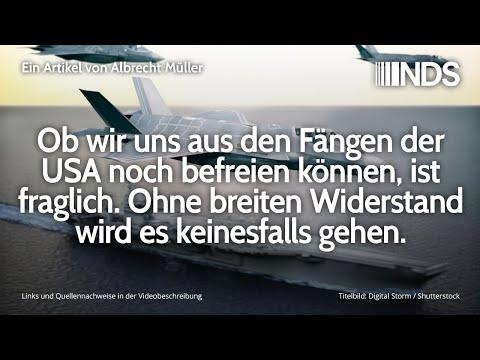 Ob wir uns aus den Fängen der USA noch befreien können ist fraglich   Albrecht Müller   NDS   9.1.20