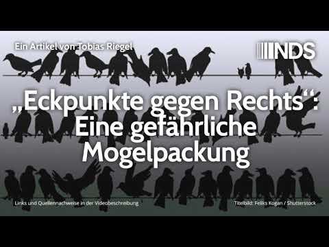 """""""Eckpunkte gegen Rechts"""": Eine gefährliche Mogelpackung   Tobias Riegel   31.10.2019"""